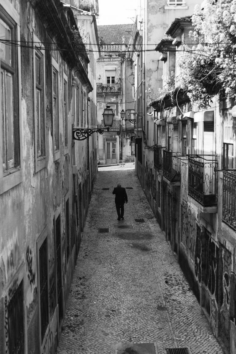 fotografía callejera Lisboa